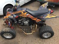 2013 quadrille xlc 500cc road legal quad