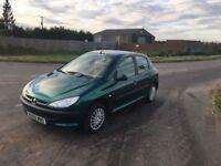 Peugeot 206 1.4 LX 5dr Petrol Auto low miles/ long mot