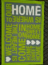 Welcome / Doormats