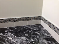 Quality Ceramic Tiles installations over 35 year experience  ple
