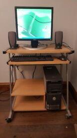 Dell Dimension 5000 PC and Desk