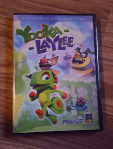 Sealed Yooka Laylee PC Backer version with Soundtrack
