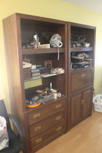 Three Wall Cabinets For Sale As Pictured.