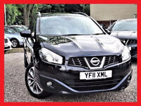 7 Seater -- 2011 Nissan QASHQAI+2 -- 1.5 dCi Tekna -- DIESEL -- FULL Leather Seats -- Pan Glass Roof