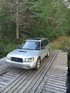 2004 Subaru Forester XT MT