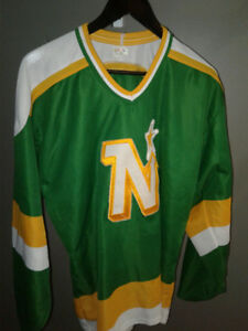 Vintage Minnesota North Stars Jersey Size L Air Knit-NHL-HOCKEY