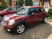 Mini Cooper 57 plate. New MOT. Leather Heated seats. Low mileage- 54000 miles