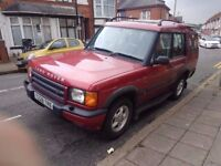 1999 LAND ROVER DISCOVERY 2.5 TD5 GS 4x4..MOT..7 SEATER..