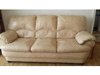 FREE MATCHING 3 SEATER SOFA AND ARMCHAIR