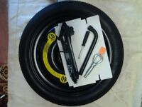 TEMPORARY USE SPARE WHEEL PLUS ACCESSORIES