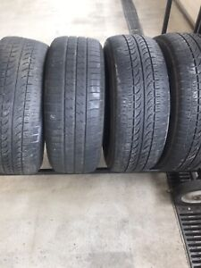 P205/55/16 firestone 4 tires for 50$