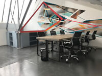 Funky office for rent in Clapham: 1-8 desks