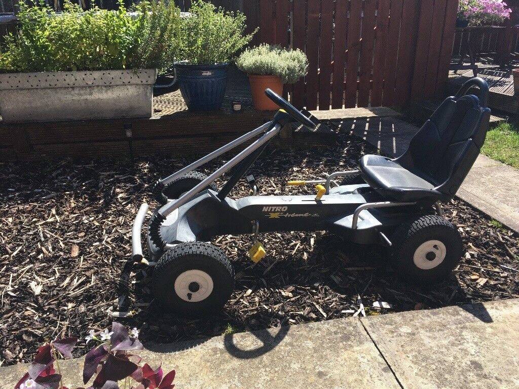 Kettler Nitro Extreme Kids Pedal Go Kart and Silverstone Air Go Carts UK