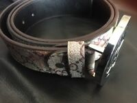 Gucci Belt Floral Design * Extremely Cheap*