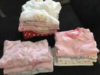 Asda George, 17 first size girl babygrows