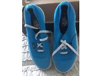 Boys Blue Vans