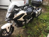Honda NC 700 X Adventure Style Motorcycle