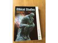 Ethical studies book - Robert A Bowie