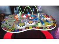 WOODEN ACTIVITY TABLE ALEX JR