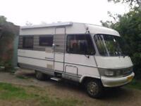 Hymer B554, Left Hand Drive, Sleeps 5 with 7 Belts,
