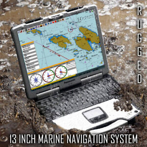 PREMIUM 13 INCH GREAT LAKES MARINE NAVIGATION SYSTEM