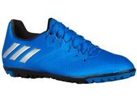 MENS ADIDAS FOOTBALL MESSI 16.3 TURF SHOES UK 11, US 11.5, EU 46 SHOCK BLUE BNIB