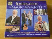 2 X CD'S & 1 X DVD - FOSTER & ALLEN