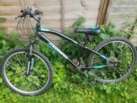 Muddy fox childs mountain bike