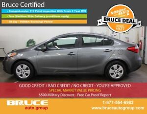 2016 Kia Forte LX 1.8L 4 CYL 6 SPD MANUAL FWD 4D SEDAN SATELLITE