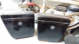 BMW R75/5 seat and side bags