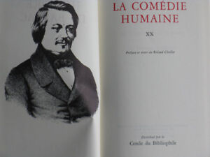 Balzac:LA COMÉDIE HUMAINE, tome 20, Cercle du Bibliophile