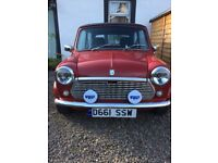 Austin Mini 1000 City E, Targa Red,MOT till Aug 18 - Good condition - Great fun to drive!
