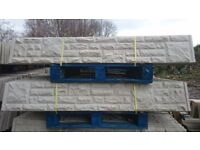 6ftx1ft Reinforced Concrete Gravel Boards ---£6 Each---