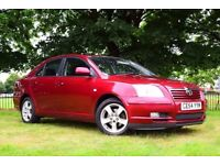2004 TOYOTA AVENSES T-3 5 DOOR**AUTOMATIC*SALOON*98000 MILES*NEW MOT(NO ADVISORY)** PETROL*SALOON**
