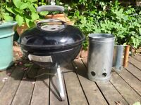 Weber Smokey Joe Classic BBQ and chimney starter