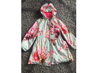 Girls ted baker rain coat