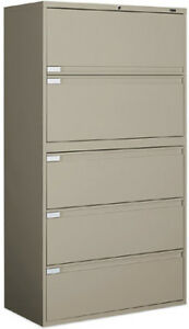 5 Dr Lateral File Cabinet.... HALF PRICE...