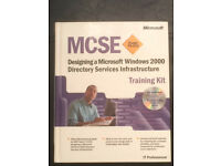 MCSE WIndows 2000 Books (including SQL,AD and Exchange)
