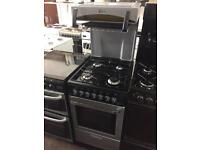Black & silver flavel high level gas cooker grill & oven good condition with guarantee