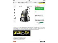 Power washer / hot diesel professional karcher pressure washer