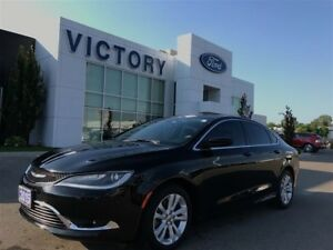 2015 Chrysler 200 Limited, Heated Steering Wheel, Bluetooth, Rem