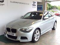 BMW 1 Series 120D M SPORT (silver) 2013-03-13