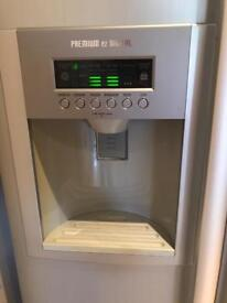 Lg fridge freezer with ice and water dispenser