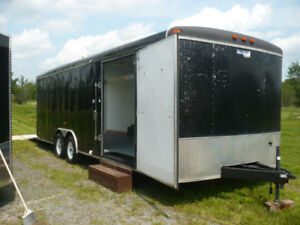 24 foot car hauler trailer $7500.00