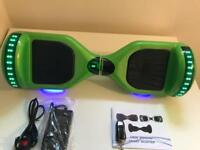 NEW ERA GREEN ORIGINAL HOVER BOARD WITH SAMSUNG BATTERY
