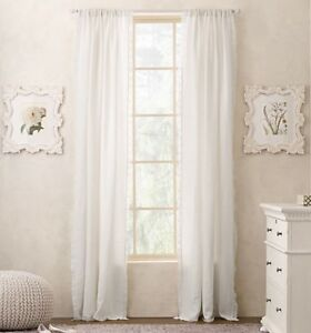 RH Baby and Child Curtains-brand new