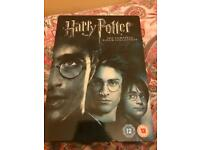 Harry Potter film collection.