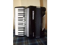 Hohner Bravo 3 72 bass piano accordion
