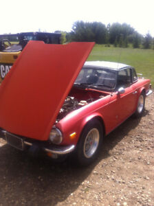 Triumph TR6 new and used body panels