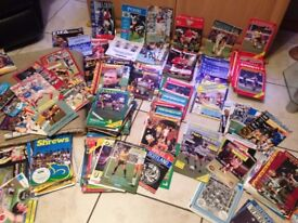 football and rugby programmes